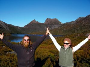 Tasmanie groepsreis Cradle Mountain