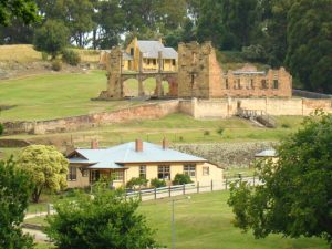 Port Arthur tijdens je Tasmanie groepsreis