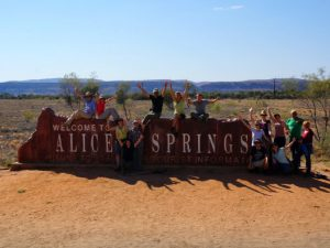 Welkom in Alice Springs