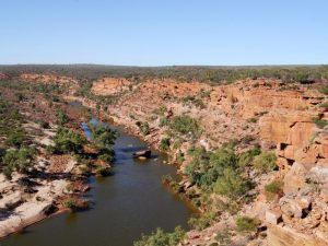 Murchison River in Kalbarri NP