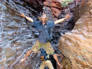 Spider Walk in Karijini National Park