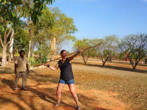 Australie Aboriginal speerwerpen