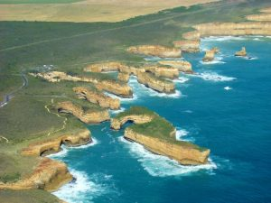 Great Ocean Road vanuit helikopter