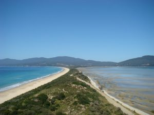 The Neck op Bruny Island