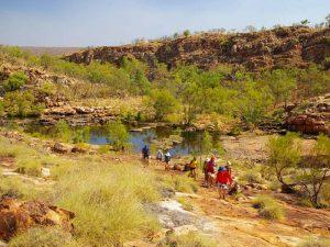 Mooie wandelingen groepsreis noordwest australie