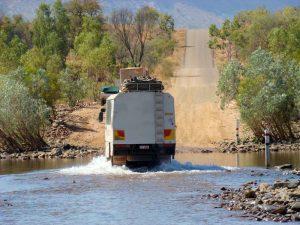 De ruige Pentecost Crossing in Australie
