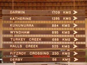 Lange afstanden in noord Australie