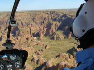 helicoptervlucht over de Bungle Bungles