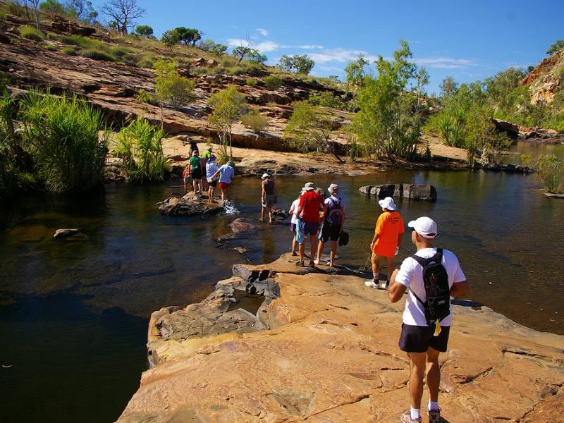 wandelen door de Kimberleys