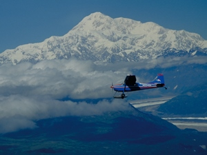 Einmaliges Erlebnis: Ein Flug zum Mt. McKinley Copyright: State of Alaska -Frank Flavin Denali Nationalpark