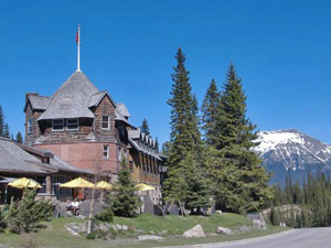 Lodge in Lake Louise im Banff Nationalpark