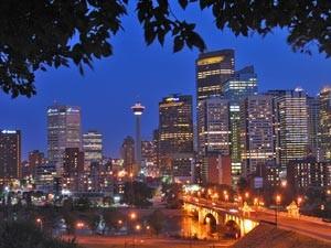 Abendstimmung-Calgary-Alberta-Kanada
