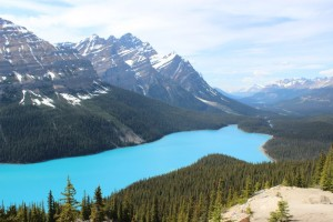 Lake Louise im Banff Nationalpark in Kanada