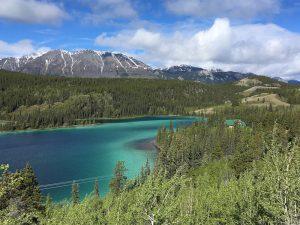 Yukon Rundreise - Emerald Lake