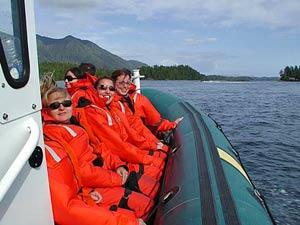Bootsausflug an Tofino-Küste bei Kanada Reise