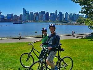 Die Metropole Vancouver mit dem Rad erkunden
