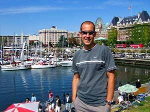 Vancouver Island: am Hafen in Victoria