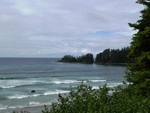 Raue Küste im Norden von Vancouver Island