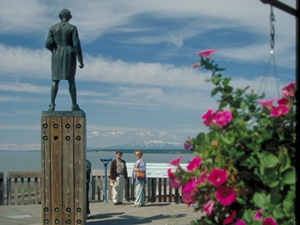 Statue von Captain Cook © State of Alaska/Frank Flavin