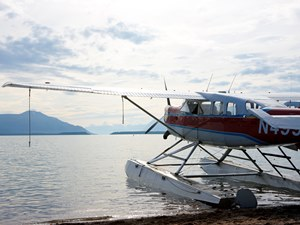 Wasserflugzeug in Homer Copyright: Chris McLennan