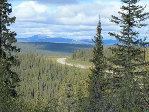 Alaska-Rundreise-top-of-the-world-highway
