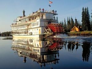 Alaska-Rundreise Auf dem Chena Fluss unterwegs Copyright: Clark Mishler