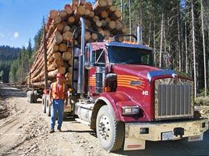 Truck in Kanada