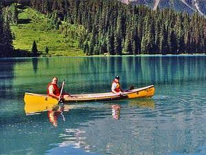 Kajak im Wells Gray Provincial Park