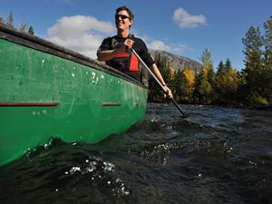 Paddeln auf dem Yukon River Copyright: Goverment of Yukon/Derek Crowe