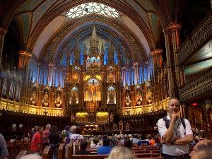 Kirche in Montreal bei Altstadt Stadtrundgang