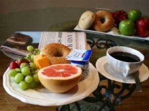 St. John´s Frühstück