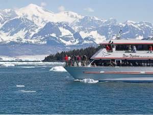 Alaska Reise Bootstour Columbia Gletscher Valdez