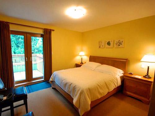 Kanada Rundreise Whistler Chalet Hotelzimmer