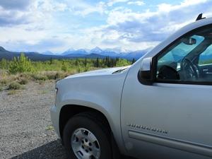Mietwagen im Yukon - Whitehorse