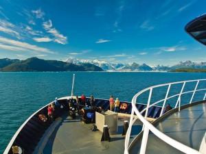 Fährfahrt von Valdez nach Whittier bei Alaska Rundreise
