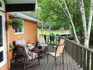 Algonquin Provincial Park-bnb-veranda