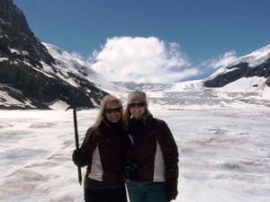 frauen-gletscherwanderung
