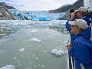 3 Wochen Alaska Rundreise Bootstour Columbia Gletscher