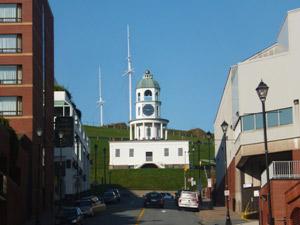 Kanada-Halifax-Die-berühmte-Zitadelle-mit-dem-Uhrturm-Neufundland-Rundreise