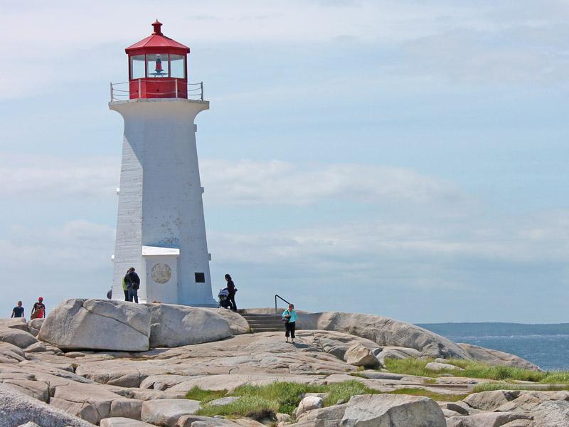 Kanada Reisen Nova Scotia Leuchtturm