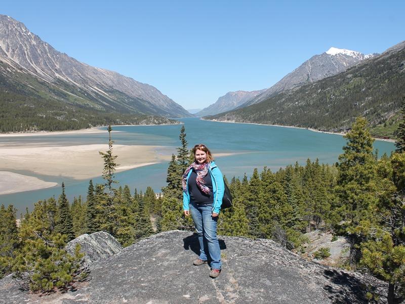 Yukon Reisen Alaska Aussicht Lake Bennett