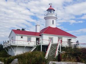 Übernachtung auf Leuchtturm-Insel bei Kanada Rundreise