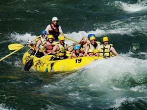 Rafting in Clearwater