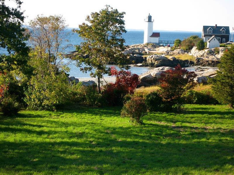 Rundreise USA Kanada Neuengland Gloucester Leuchtturm