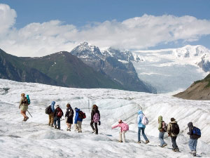 Gletscherwanderung Copyright St. Elias Guides - Wrangell St. Elias Nationalpark