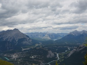 Ausblick Banff Rocky Mountains Kanada