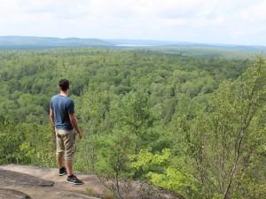 ostkanada-algonquin provincial park-lookout-trail-aussicht