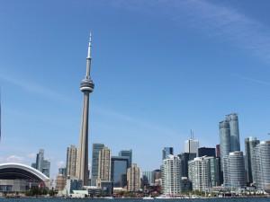 USA Ostkanada Rundreise Toronto Skyline