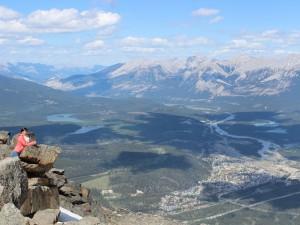 Ausblick über Jasper