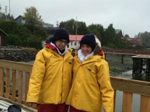 In Kanada Bären beobachten beim Pacific Rim Nationalpark